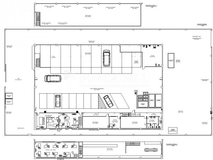 Nau industrial en venda o lloguer d'1.545 m² - Sant Pere de Ribes, Barcelona.  #26