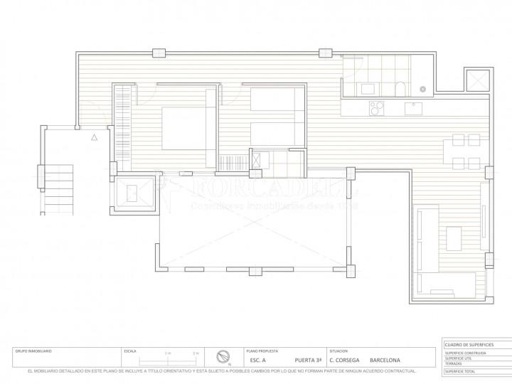 Fantàstics pisos a la venda, nous a estrenar, al barri de la Nova Esquerra de l'Eixample de Barcelona. Ref. V23401 10