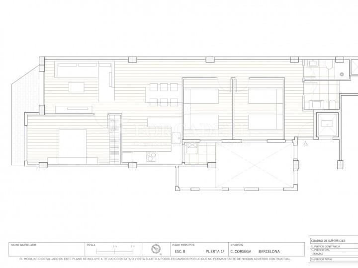 Fantàstics pisos a la venda, nous a estrenar, al barri de la Nova Esquerra de l'Eixample de Barcelona. Ref. V23401 11