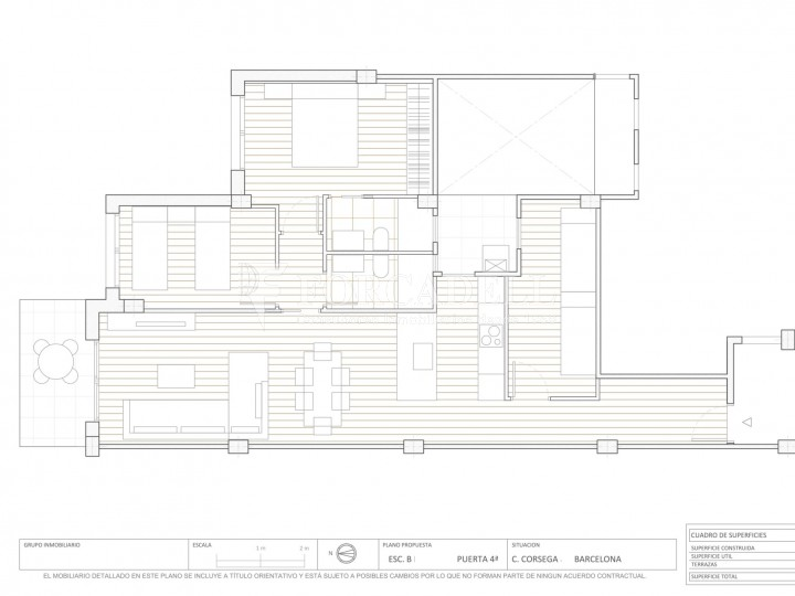 Fantàstics pisos a la venda, nous a estrenar, al barri de la Nova Esquerra de l'Eixample de Barcelona. Ref. V23401 12