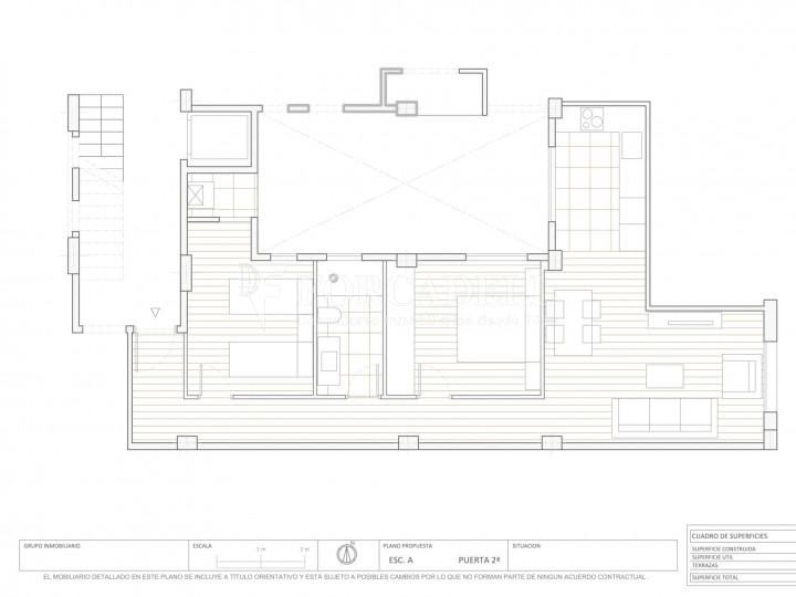 Fantàstics pisos a la venda, nous a estrenar, al barri de la Nova Esquerra de l'Eixample de Barcelona. Ref. V23401 8