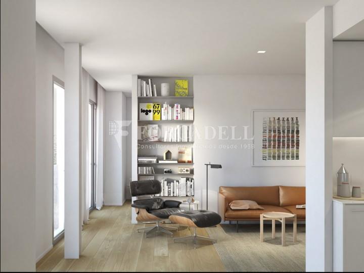 Duplex d'obra nova de 2 habitacions amb jardí al barri de l'Esquerre de l'Eixample de Barcelona. 2