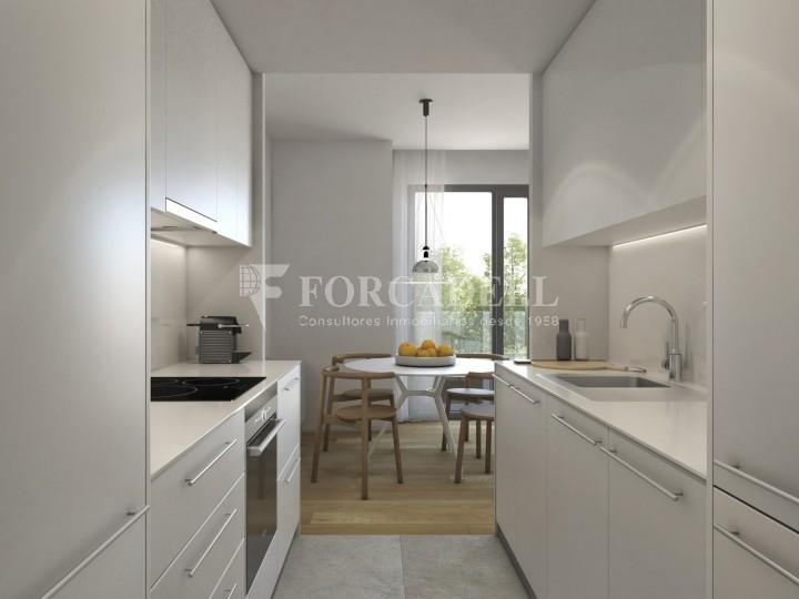 Duplex d'obra nova de 2 habitacions amb jardí al barri de l'Esquerre de l'Eixample de Barcelona. 6
