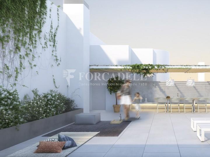 Duplex d'obra nova de 2 habitacions amb jardí al barri de l'Esquerre de l'Eixample de Barcelona. 7
