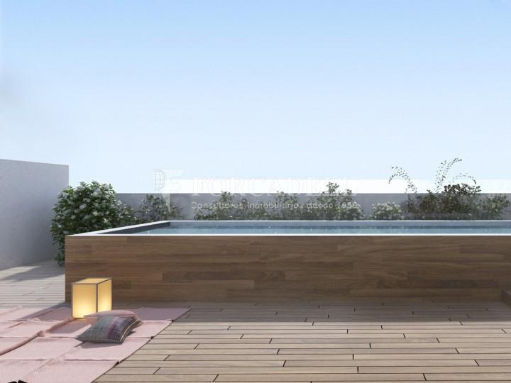 Pis d'obra nova de 71,65 m² al barri de Les Corts de Barcelona 7