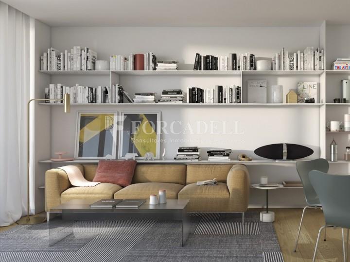 Pis d'obra nova de 71,65 m² al barri de Les Corts de Barcelona 2