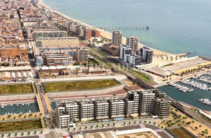 Local comercial d'obra nova a la Marina de Badalona. Barcelona.  4
