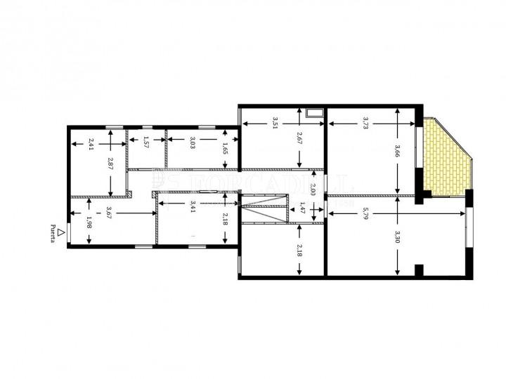 Fantàstic pis de 106 m² segons cadastre al barri de Sarrià i al districte de Sarrià-Sant Gervasi. 27