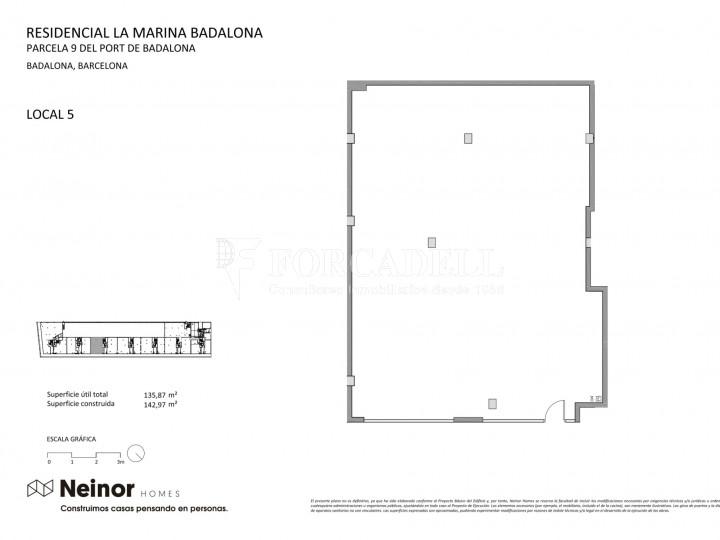 Local d'obra nova a La Marina de Badalona. Barcelona. 6