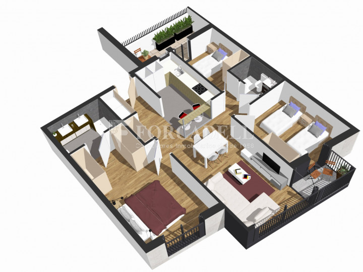 Nova promoció de 9 habitatges i 1 local en venda a Granollers 3