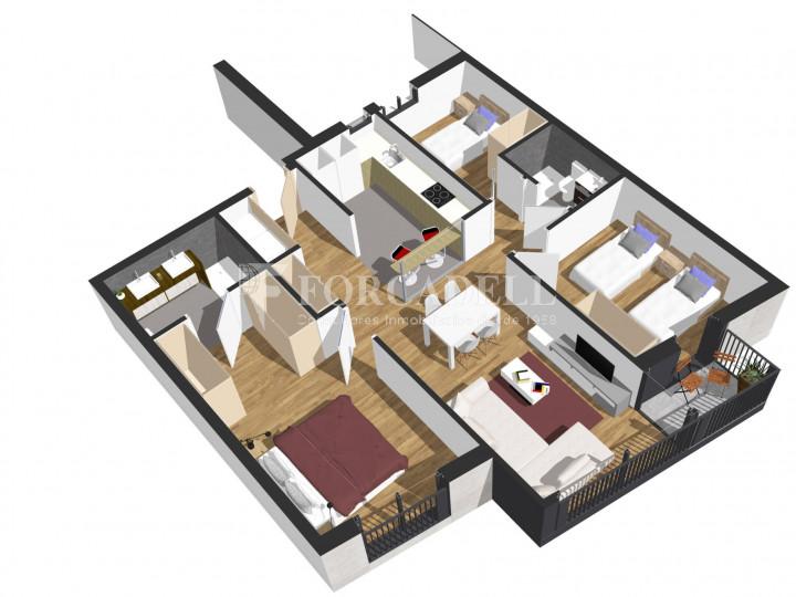 Nova promoció de 9 habitatges i 1 local en venda a Granollers 5