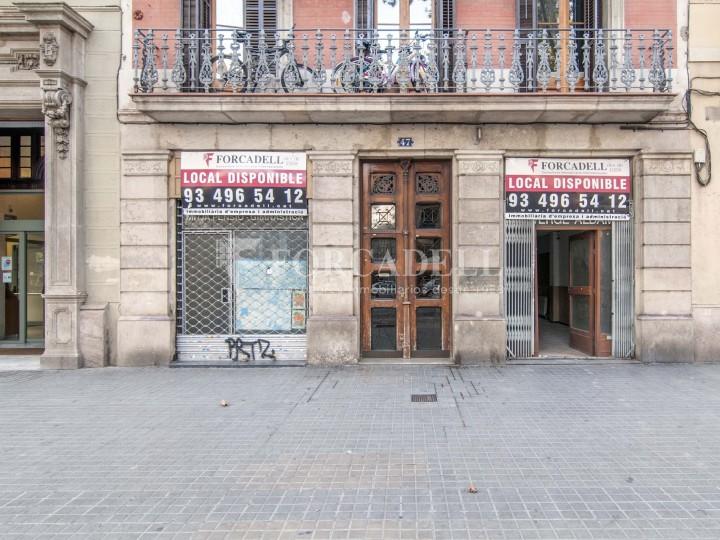Local en lloguer acondicionat a Sant Antoni. Barcelona. Cod. 3128 #1