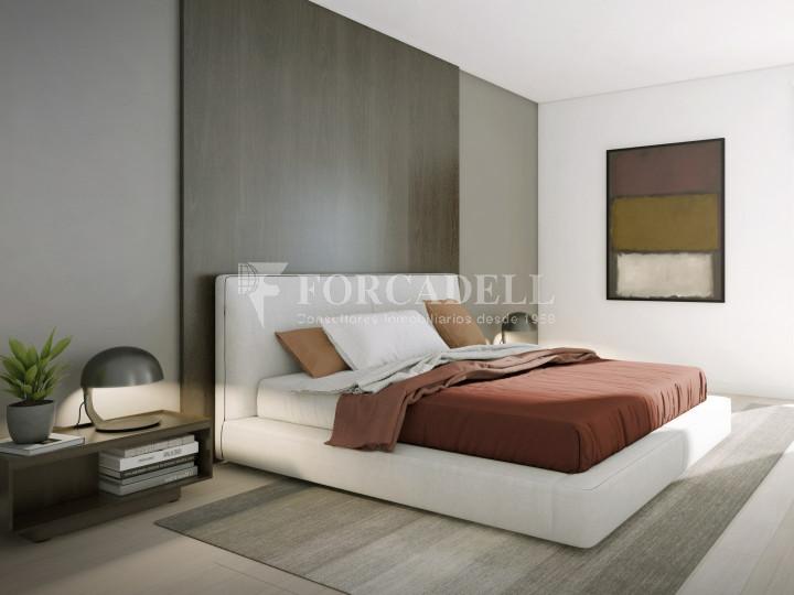 Pis de 61,23 m² més 10,27 m² de terrassa d'obra nova situat a la cinquena planta al centre de Sabadell 3