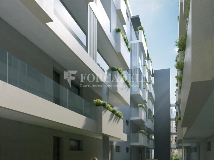 Pis de 61,23 m² més 10,27 m² de terrassa d'obra nova situat a la cinquena planta al centre de Sabadell 5
