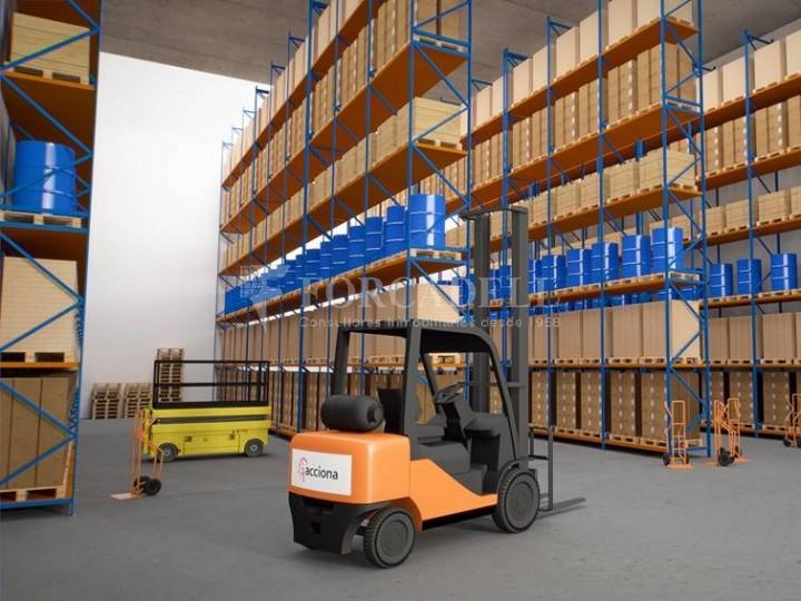 Nau corporativa d'obra nova de 25.218 m² en venda a Barcelona 3
