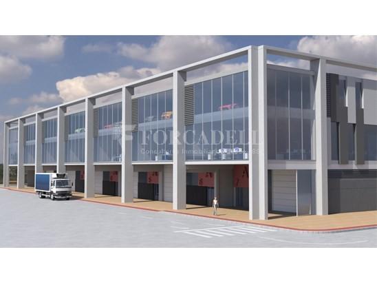 Nau corporativa d'obra nova de 868 m² en venda a Barcelona 1