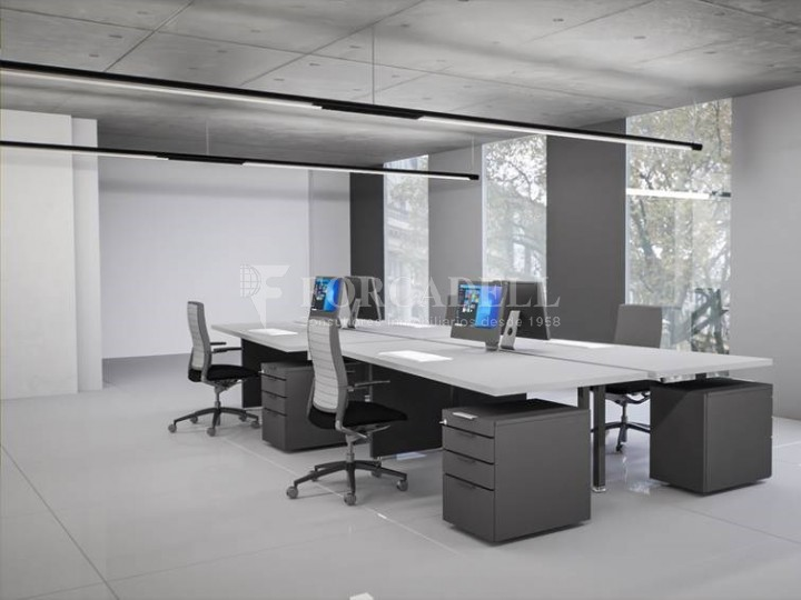 Nau corporativa d'obra nova de 868 m² en venda a Barcelona 6