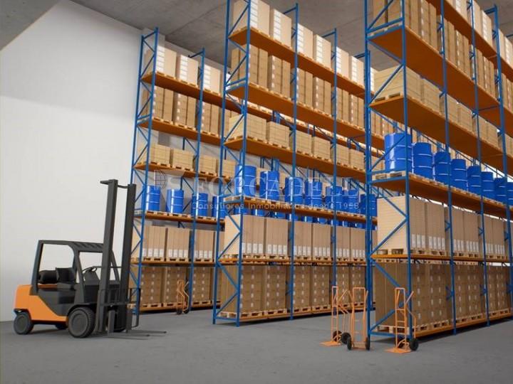 Nau corporativa d'obra nova de 5.136 m² en venda a Barcelona 8