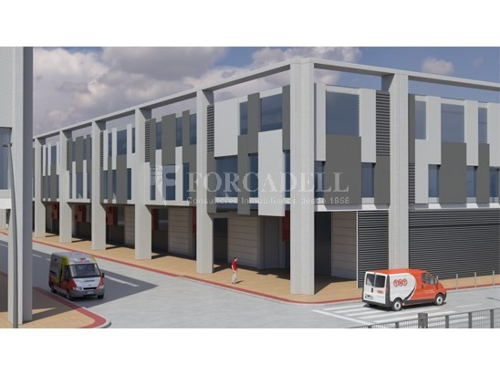 Nave corporativa de obra nueva de 6.216 m² en venta en Barcelona 3