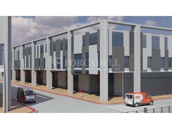 Nau corporativa d'obra nova de 7.296 m² en venda a Barcelona 3