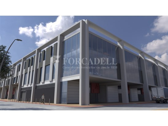 Nave corporativa de obra nueva de 11.455 m² en venta en Barcelona 4