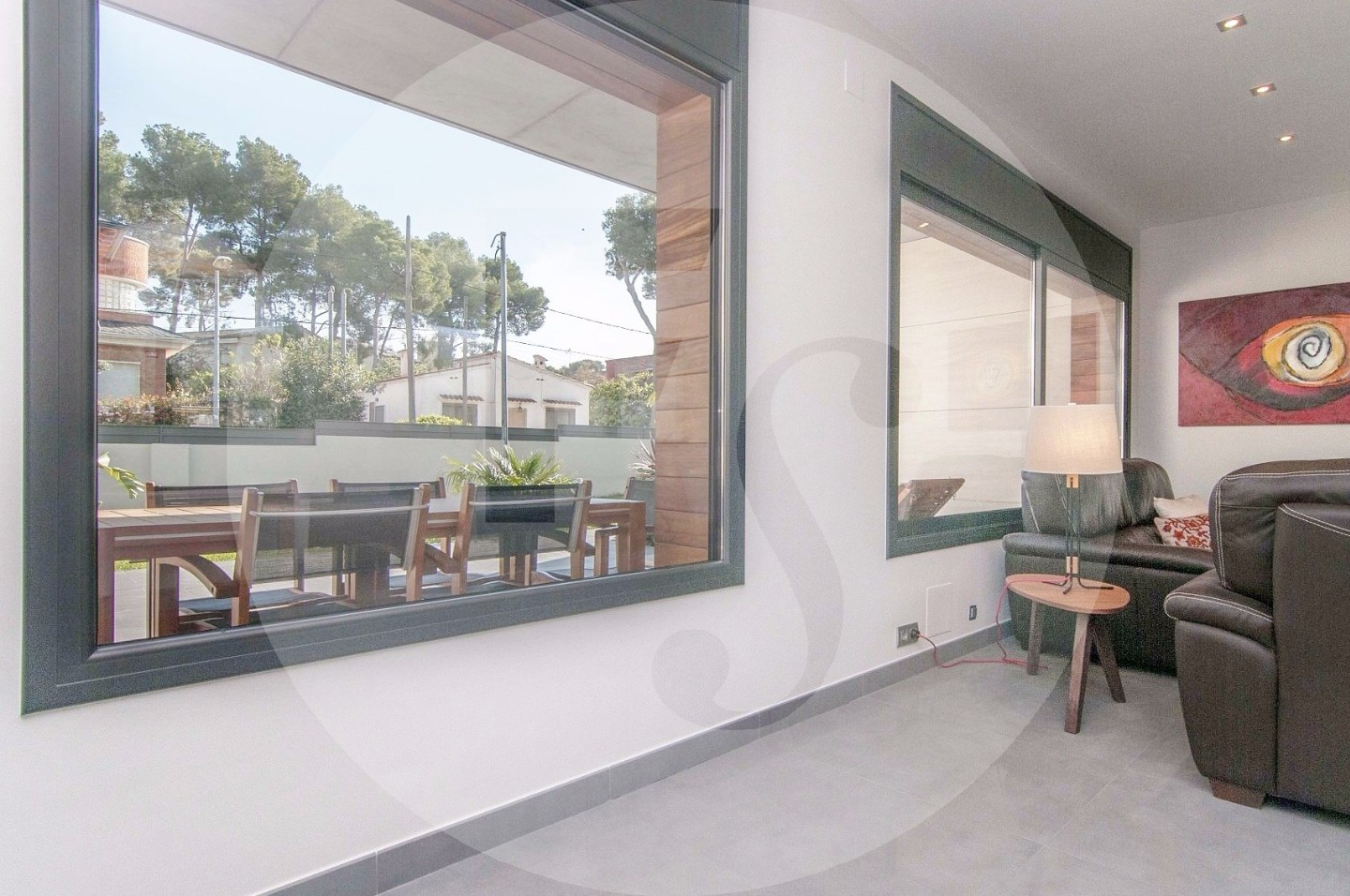 spelndid house and room design. Splendid house of recent construction in Montemar  a residential area located Castelldefels next to Barcelona Ref V19060 Forcadell Suite