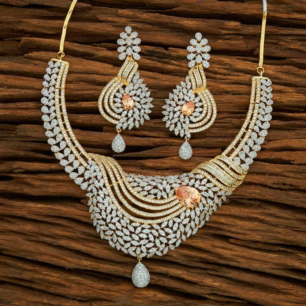 53aa51cbad9 American Diamond CZ Jewellery. Necklace