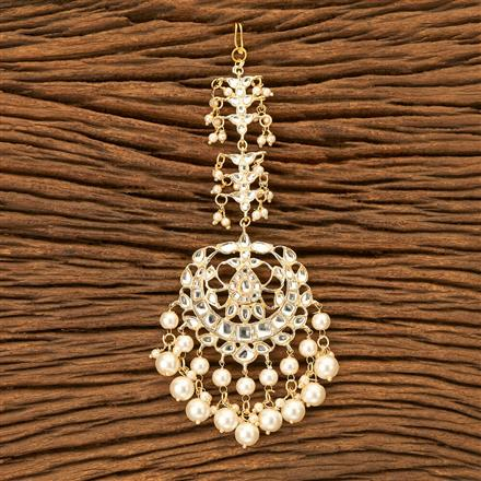 100471 Indo Western Chand Tikka with gold plating
