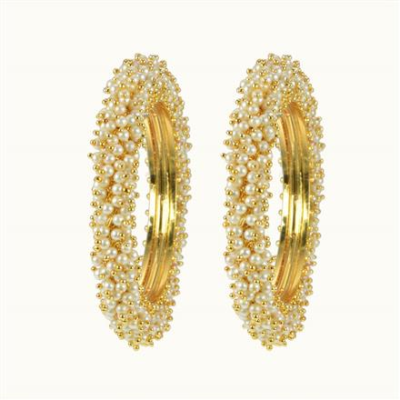 10071 Antique Classic Bangles with gold plating