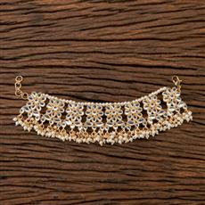 101059 Indo Western Classic Bracelet with Gold Plating