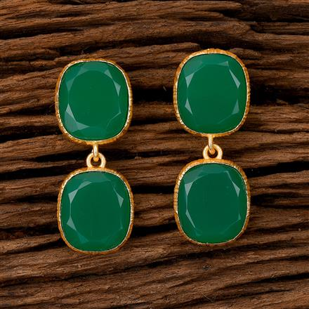101092 Indo Western Classic Earring with Gold Plating