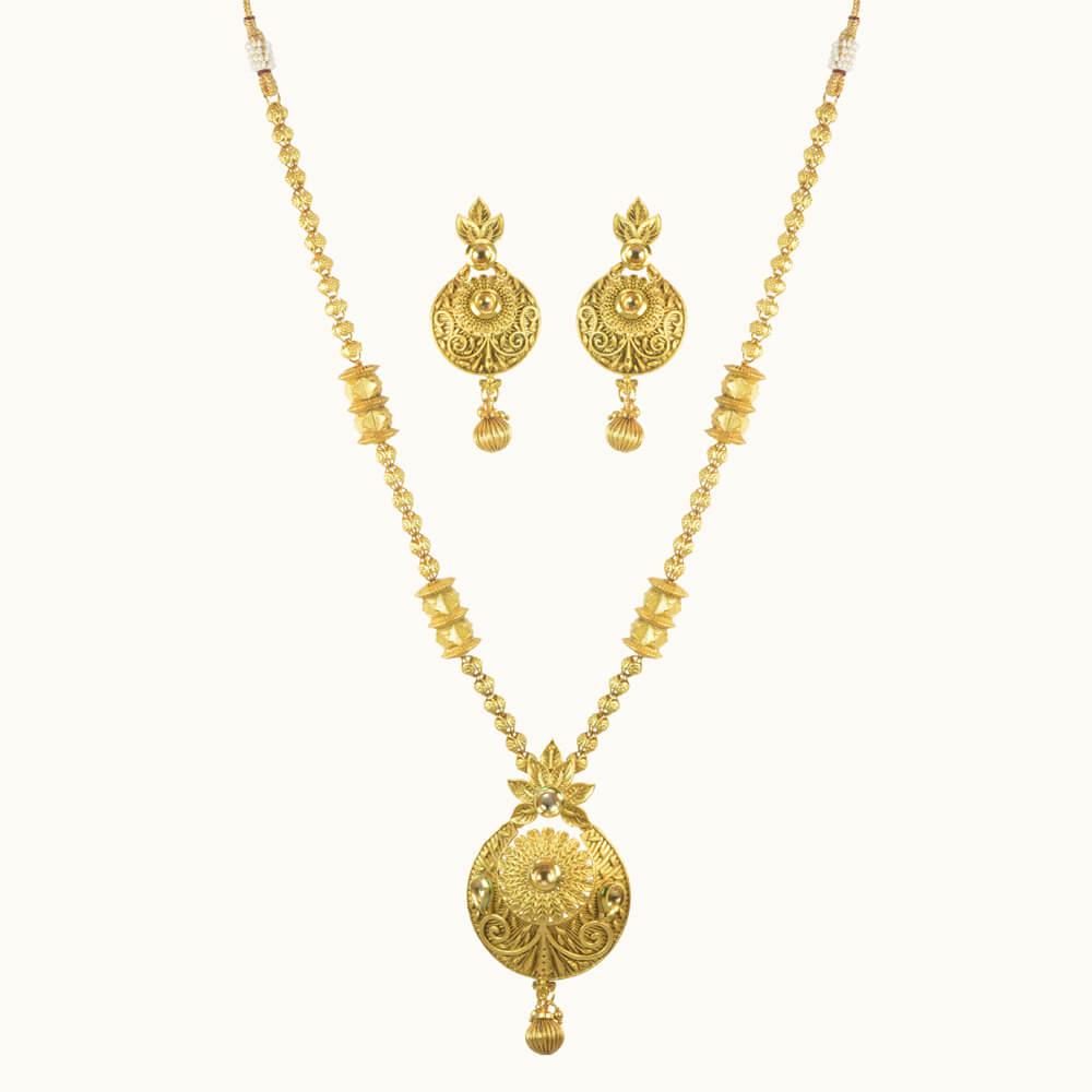 Buy antique gold plated mala pendant set 10145 online buy pendant antique gold plated mala pendant set 10145 aloadofball Gallery