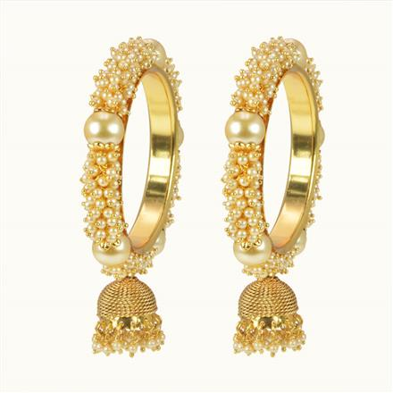 10160 Antique Classic Bangles with gold plating