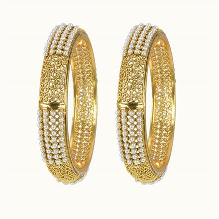 10162 Antique Classic Bangles with gold plating