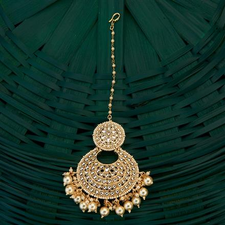 101911 Indo Western Chand Tikka with gold plating