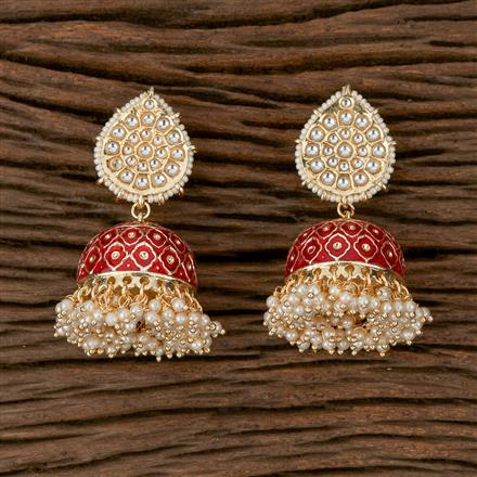 102146 Indo Western Jhumkis with Gold Plating