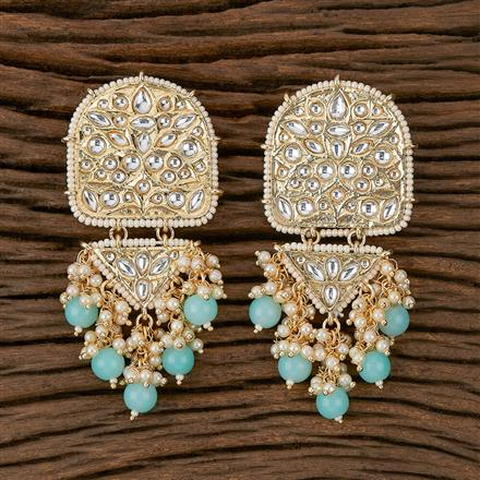 102165 Indo Western Trendy Earring with Gold Plating
