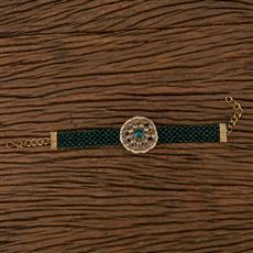 102307 Indo Western Classic Bracelet With Mehndi Plating