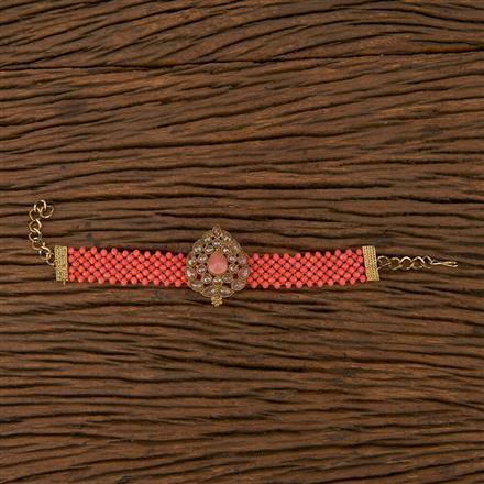 102308 Indo Western Classic Bracelet With Mehndi Plating