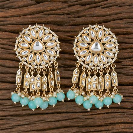 102313 Indo Western Classic Earring With Gold Plating