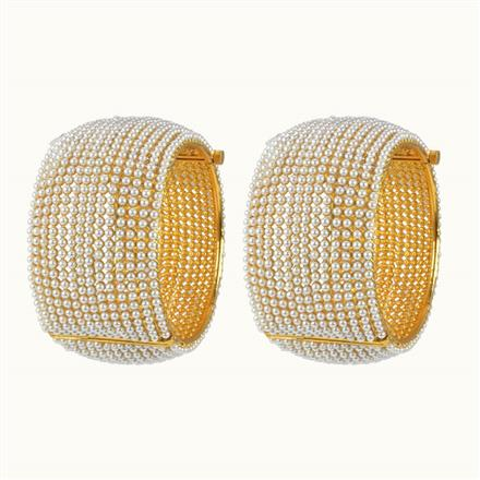 10249 Antique Openable Bangles with gold plating