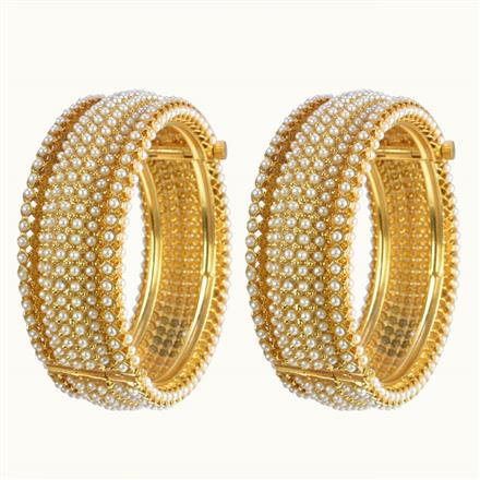10250 Antique Openable Bangles with gold plating