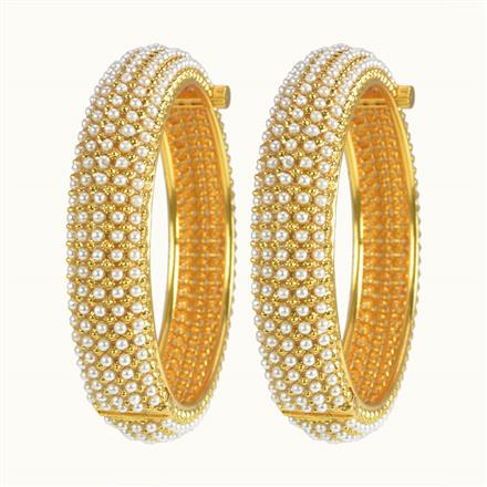 10251 Antique Openable Bangles with gold plating
