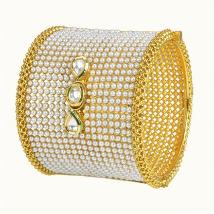 10254 Antique Openable Bangles with gold plating