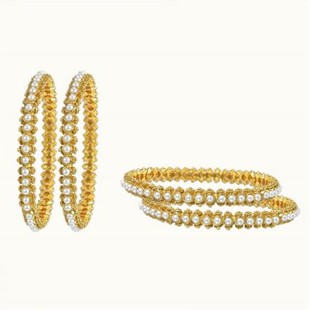 10259 Antique Classic Bangles with gold plating