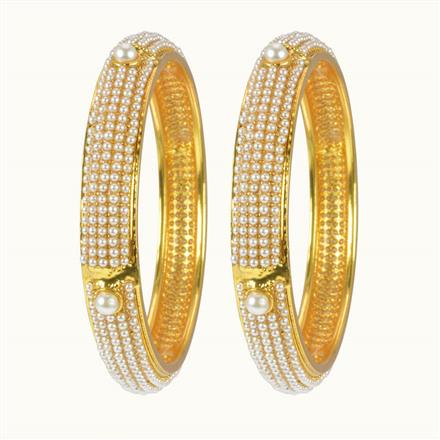 10260 Antique Classic Bangles with gold plating