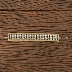 102721 Indo Western Classic Bracelet With Gold Plating