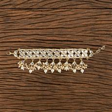 102816 Indo Western Classic Bracelet With Gold Plating