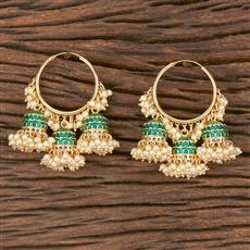 102977 Indo Western Balis With Gold Plating