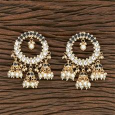 103105 Indo Western Jhumkis With Gold Plating